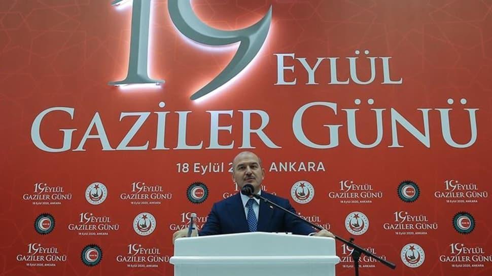 İçişleri Bakanı Soylu, 19 Eylül Gaziler Günü etkinliğine katıldı