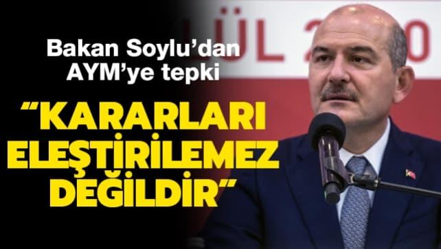 Bakan Soylu'dan Anayasa Mahkemesi açıklaması