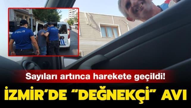 Sayıları artınca harekete geçildi: İzmir'de değnekçi avı