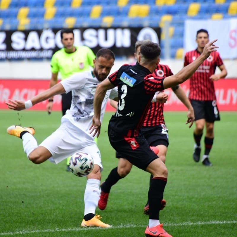 Gençlerbirliği-Konyaspor maçında gol sesi çıkmadı