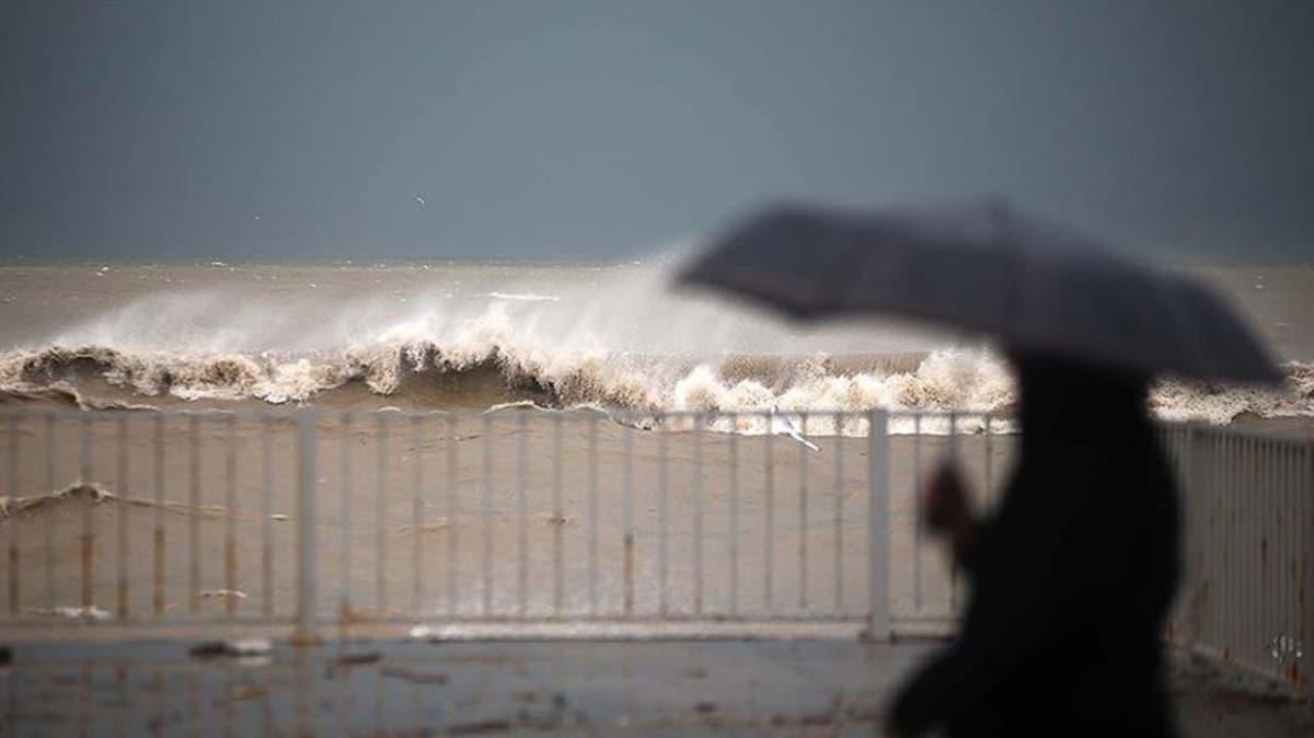 Meteorolojiden açıklama geldi... Kuvvetli yağış ve rüzgar uyarısı