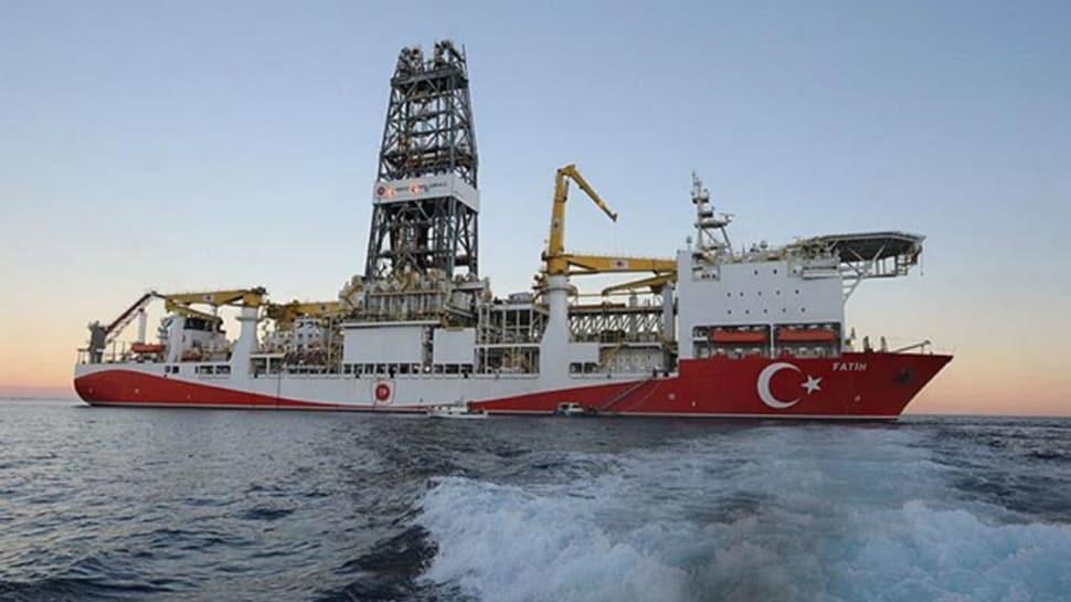 Doğu Akdeniz'deki sondaj ambargosuna yerli önlem: Yabancı çalışan sayısı 3'te 1'e indirildi