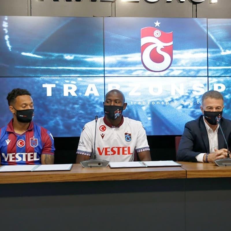 Trabzonspor'da yeni yıldızlar basına tanıtıldı