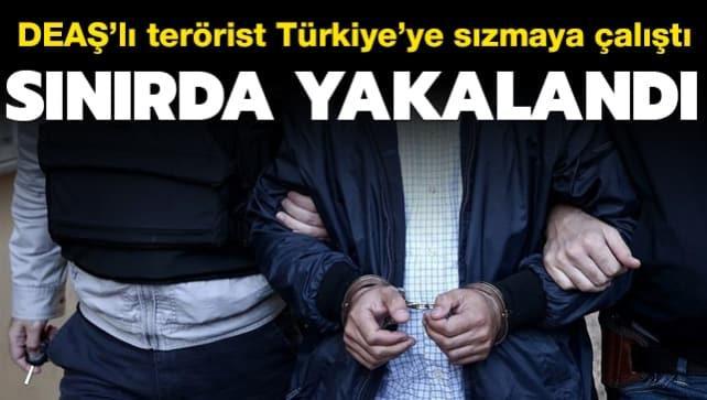 Türkiye'ye sızmaya çalışırken yakalandı