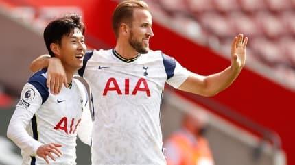 Kane ve Son tarihe geçti, Tottenham ezerek kazandı