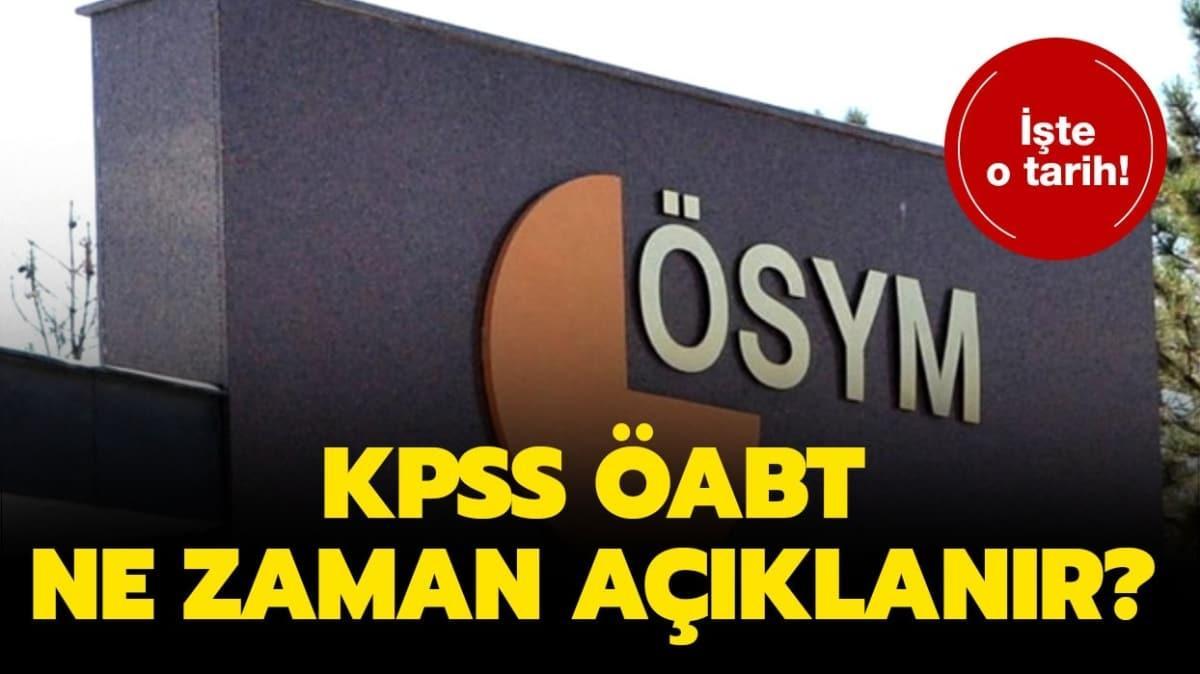 """KPSS ÖABT sonuçları ne zaman açıklanacak"""" Gözler ÖABT sınav sonuçlarında..."""