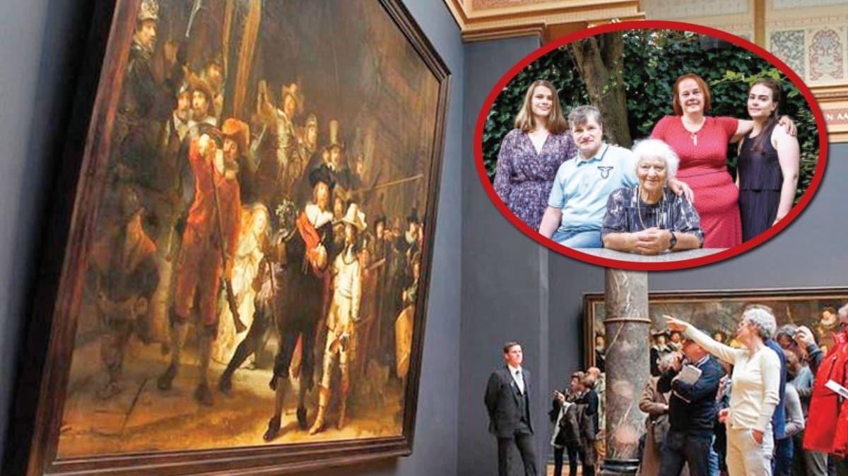 Müze şaşkın! Adak için bağışladığı tabloyu geri istedi