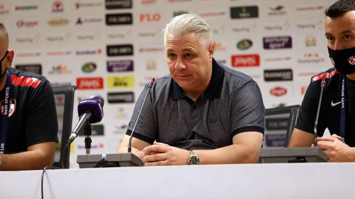 Fatih Karagümrük - Gaziantep FK maçının ardından