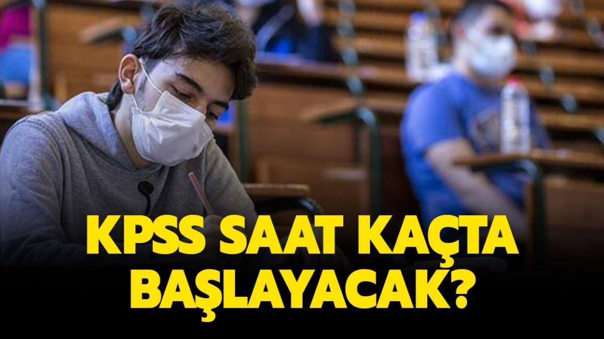 """KPSS ÖABT sınavı ilk oturum ve ikinci oturum saat kaçta başlayacak"""" KPSS Öğretmenlik Alan Bilgisi saat kaçta"""""""