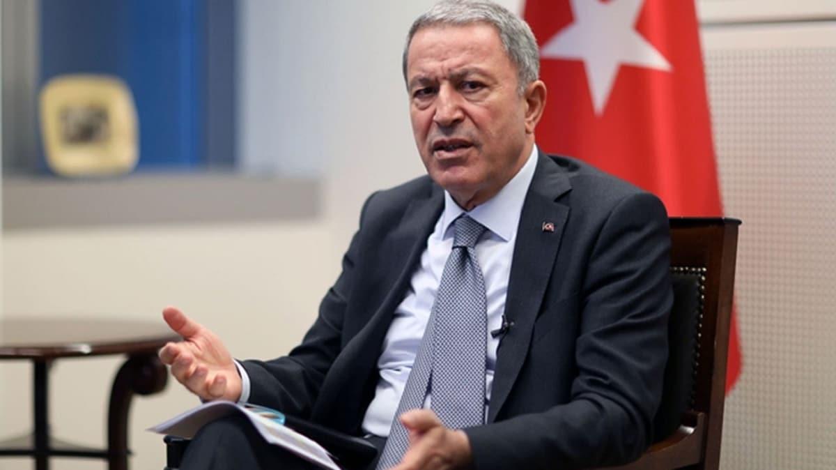 Bakan Akar'dan Yunan basını açıklaması: Tarihinde kara bir leke olarak kalacaktır