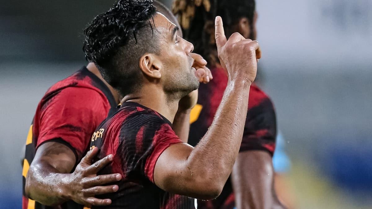 Radamel Falcao, gollerine devam ediyor