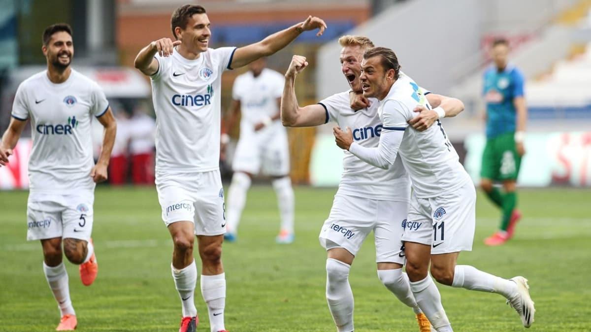 Kasımpaşa Rizespor'u rahat geçti: 2-0