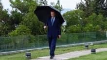 Başkan Erdoğan paylaştı: Yağmurlu bir İstanbul hafta sonunda mesaiye devam