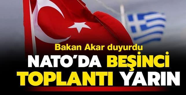 Türkiye ile Yunanistan askeri heyetleri arasında NATO Karargahı'nda gerçekleştirilen toplantılardan beşincisi yarın yapılacak