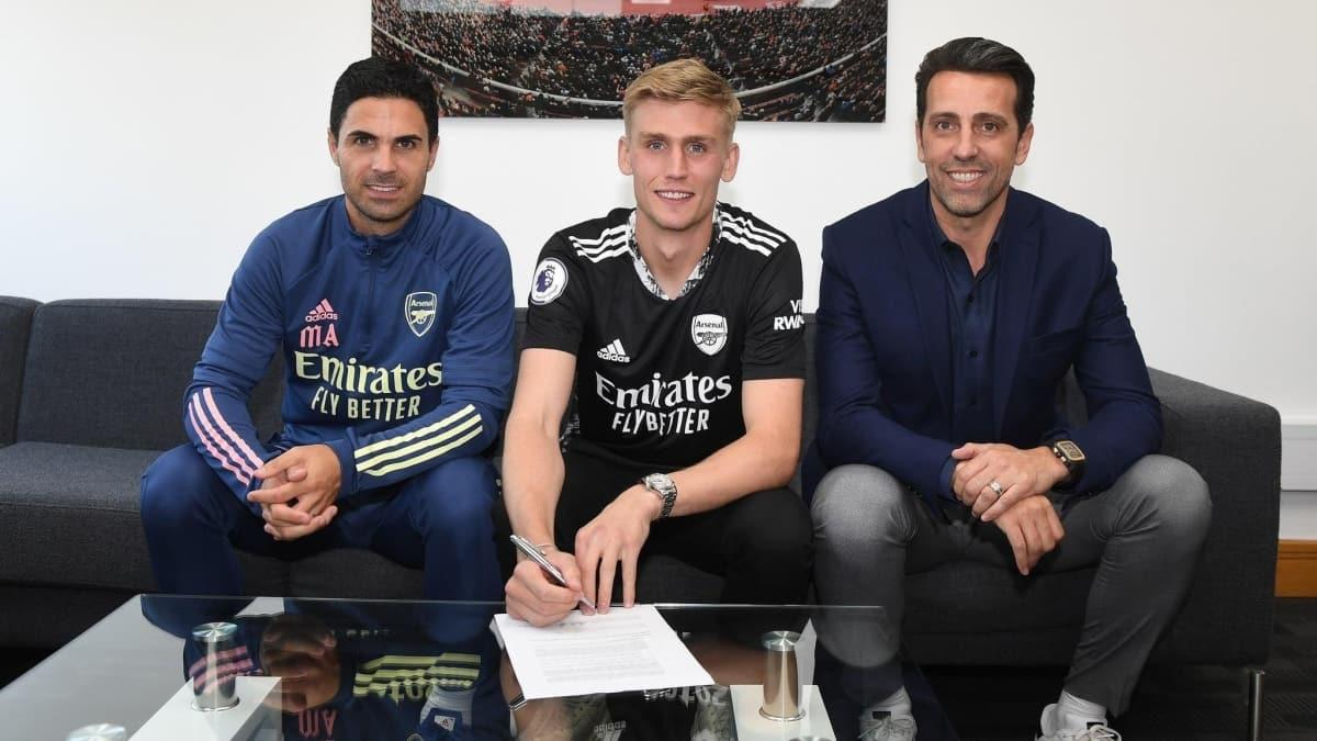 Alex Runarsson, Arsenal'da