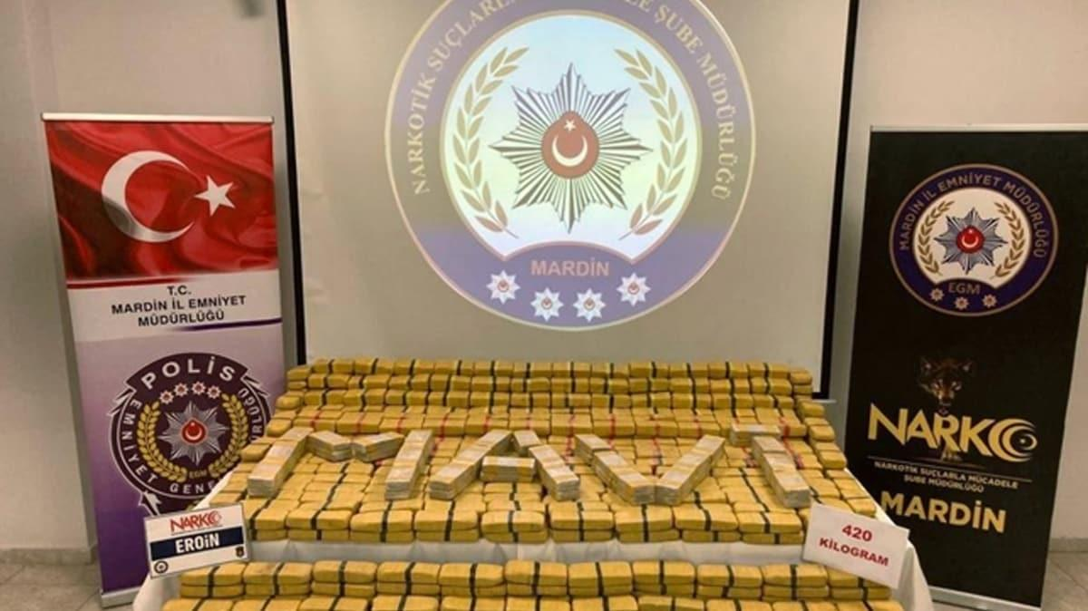 Bakan Soylu: Son bir haftada 1 ton eroin ele geçirildi