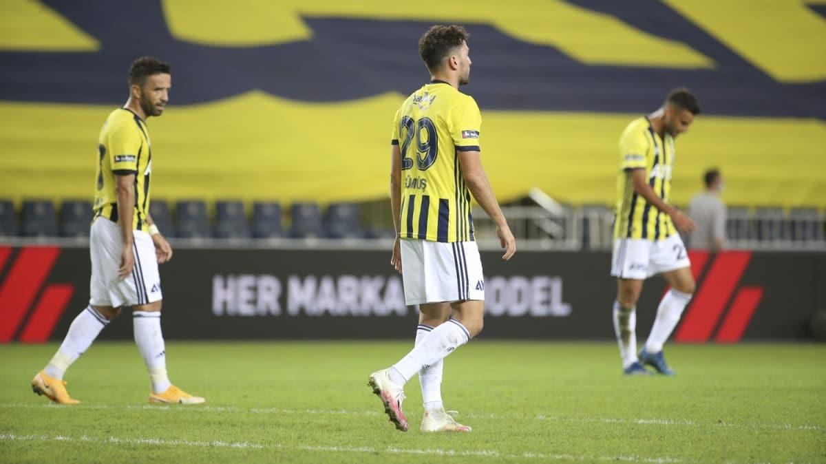 Fenerbahçe, bir puanla yetindi