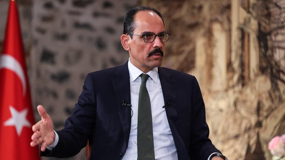 """Serrac'ın istifası Libya ile anlaşmaları etkiler mi"""" Cumhurbaşkanlığı Sözcüsü Kalın, değerlendirdi"""