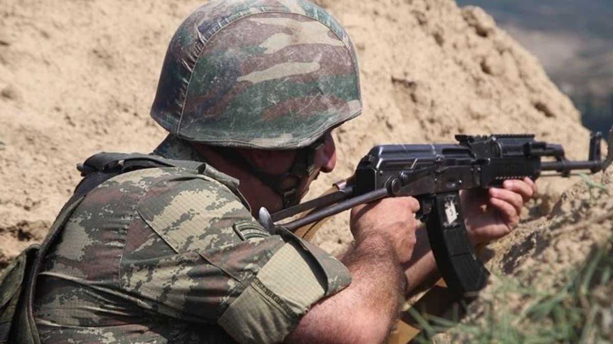 Ermenistan-Azerbaycan sınırında çatışma! Bir Azerbaycan askeri şehit oldu