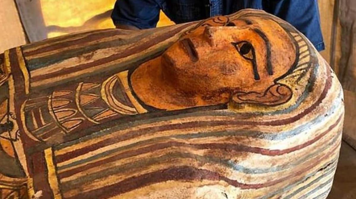 Mısır'da 27 lahit keşfedildi: Milattan önce 943 yılına ait