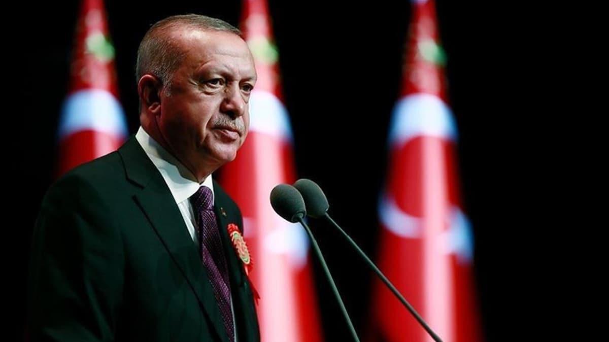 Başkan Erdoğan'dan, BM'nin 75. kuruluş yıl dönümü vesilesiyle video mesaj