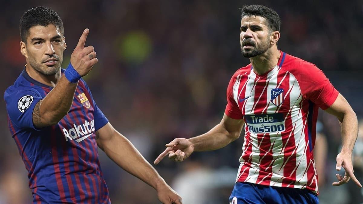 Atletico Madrid'in Luis Suarez transferi için gözler Fenerbahçe-Diego Costa flörtünde