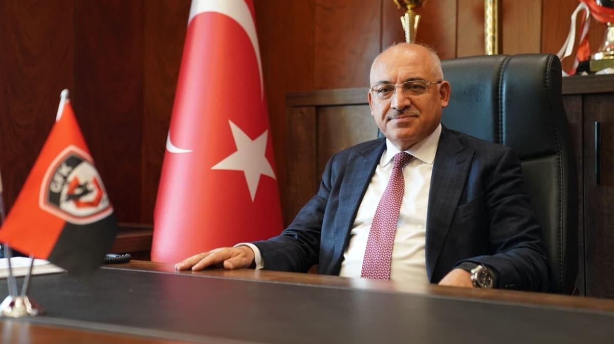 Mehmet Büyükekşi: Gaziantep FK'nın yönetim sorunu yoktur, görevimin başındayım