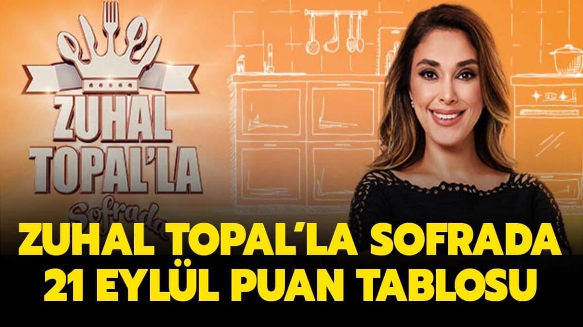 21 Eylül Zuhal Topal'la Sofrada puan tablosu