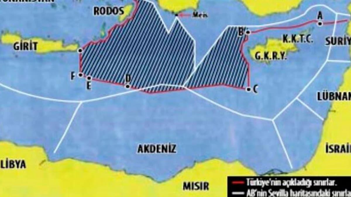ABD'den Yunanistan'a 'Sevilla haritası' yanıtı: Hukuki öneme sahip olduğunu düşünmüyoruz