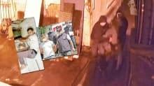 Hırsızlar tuvalet penceresinde enselendi