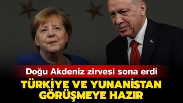 Başkan Erdoğan, Merkel ve Michel arasındaki önemli toplantı sona erdi
