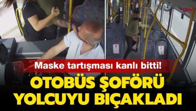 Bursa'da maske tartışması kanlı bitti: Otobüs şoförü yolcuyu bıçakladı
