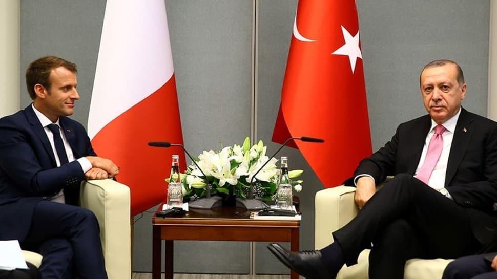 Başkan Erdoğan Fransa Cumhurbaşkanı Macron ile telefonda görüştü