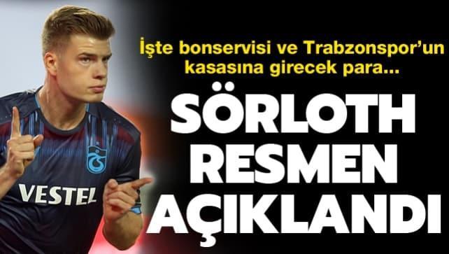Sörloth resmen açıklandı! İşte Trabzonspor'un kasasına girecek para...