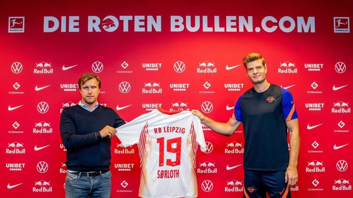 Alexander Sörloth: 'Bundesliga'da oynamayı dört gözle bekliyorum'