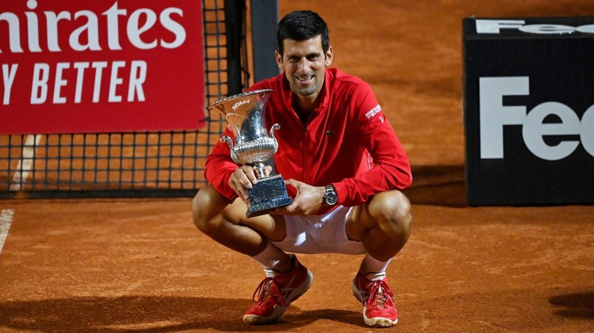 Roma Açık, Novak Djokovic'in