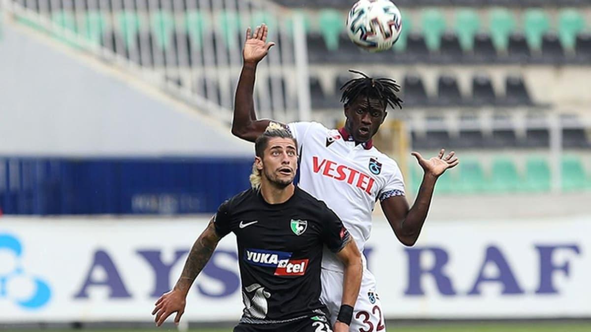 Trabzonspor'da Edgar Ie takımdan ayrılmaktan vazgeçti