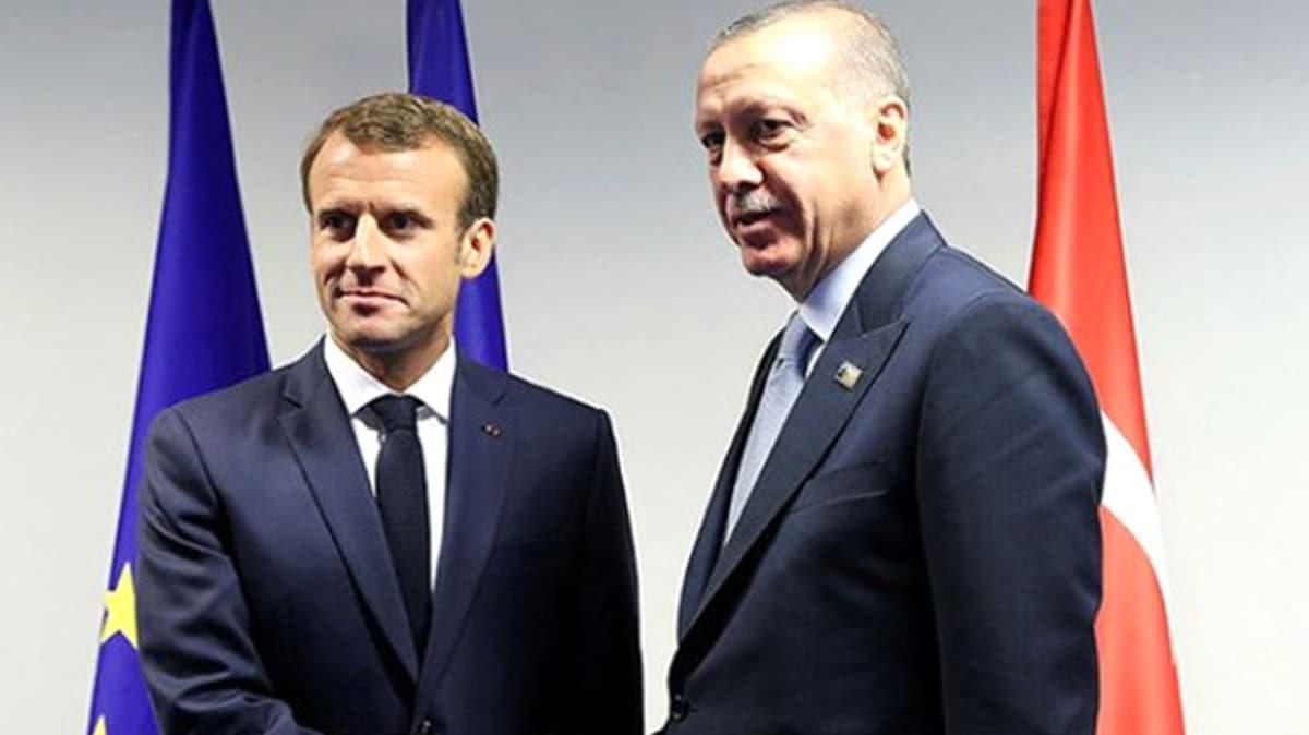 Başkan Erdoğan, Fransa Cumhurbaşkanı Macron ile telefon görüşmesi gerçekleştirecek