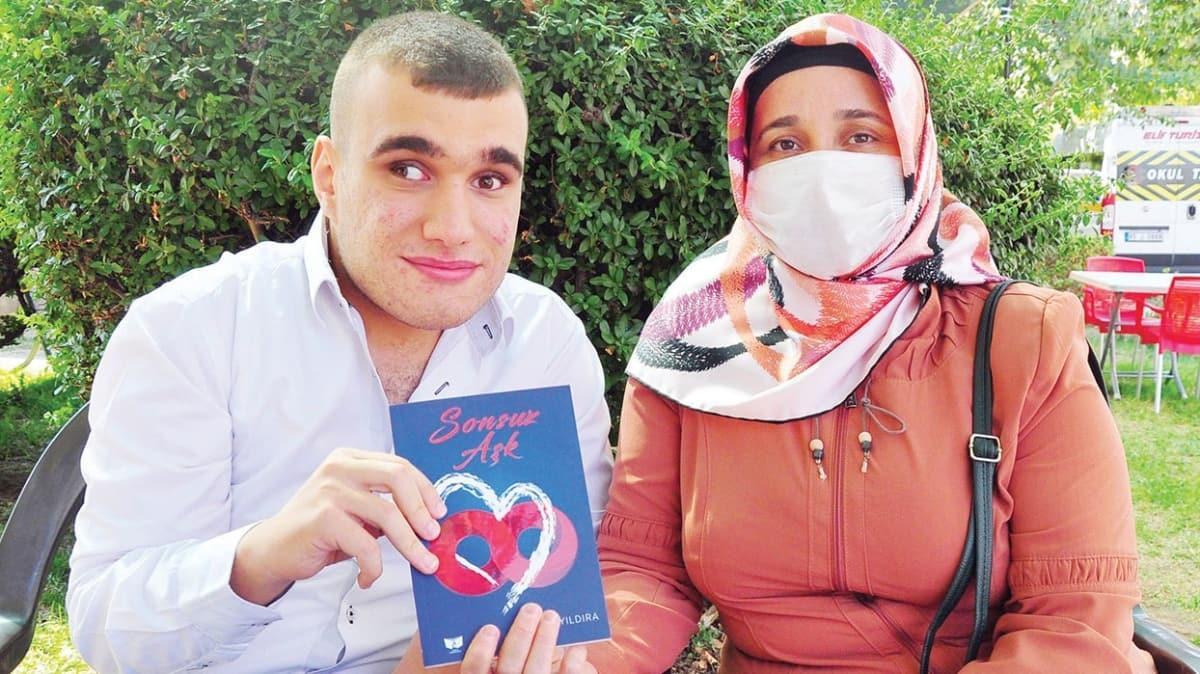 '7 yıl yaşar' denilen Serhat 20 yaşında 3. kitabını yazdı