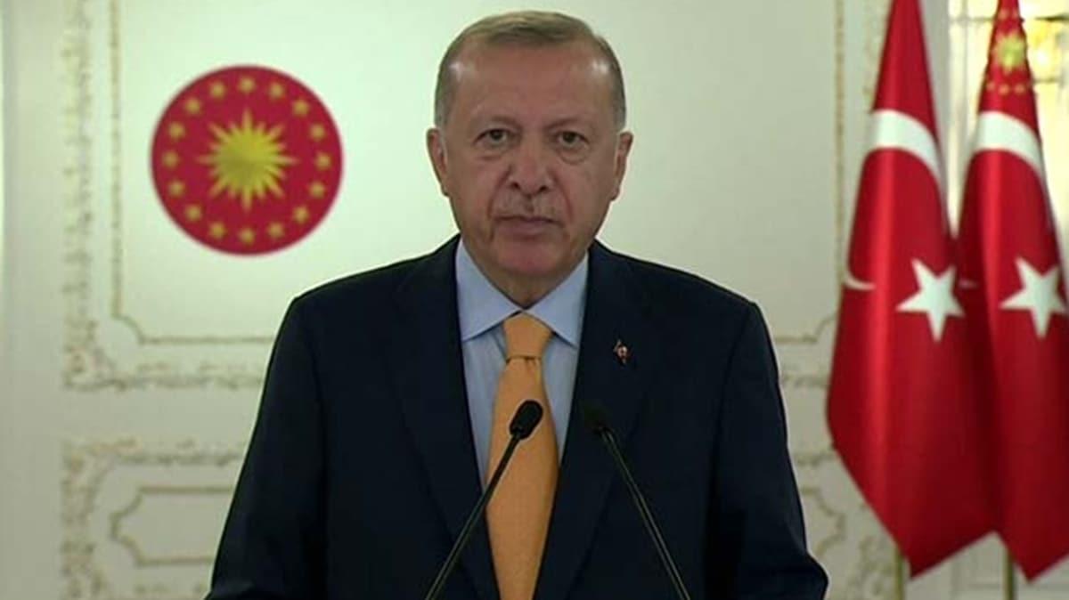 Başkan Erdoğan'dan net mesaj: BM'nin tavır almasının vakti gelmiştir