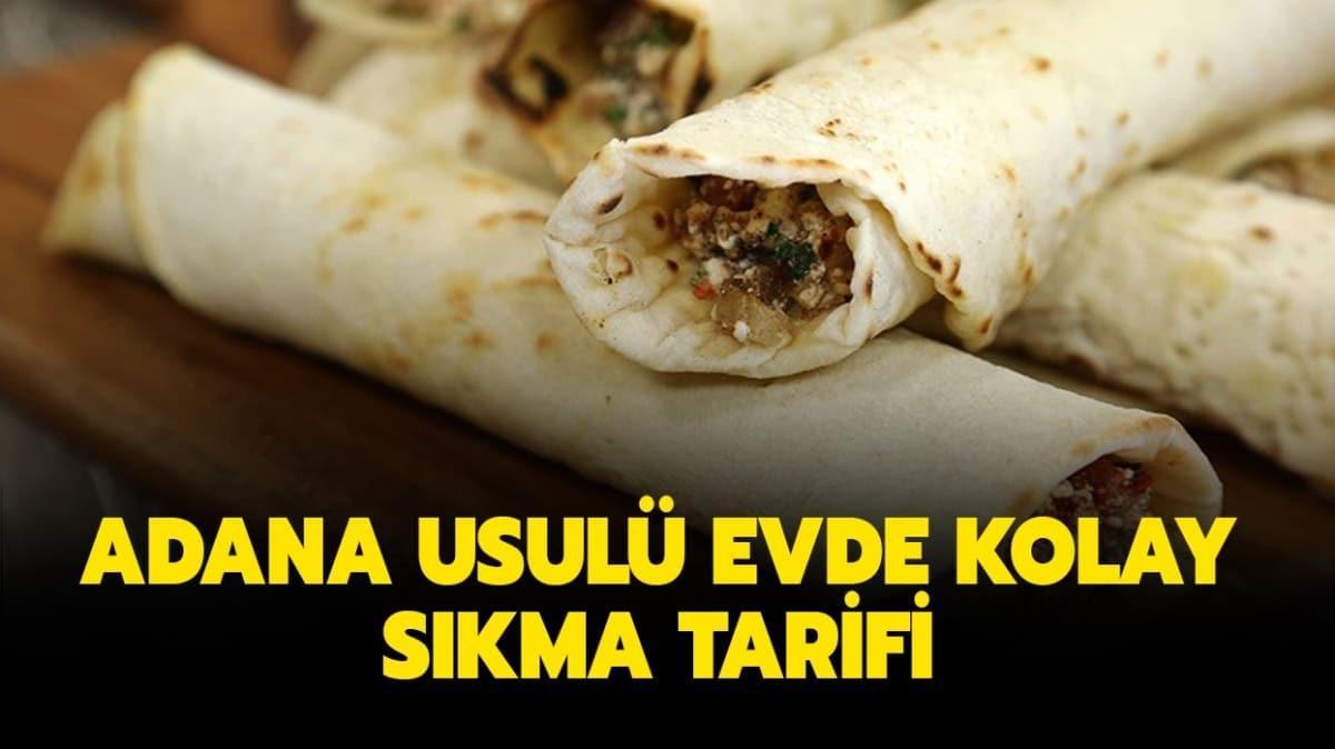 """Adana usulü evde kolay sıkma tarifi nasıl yapılır"""" Sıkma tarifi malzemeleri nelerdir"""""""
