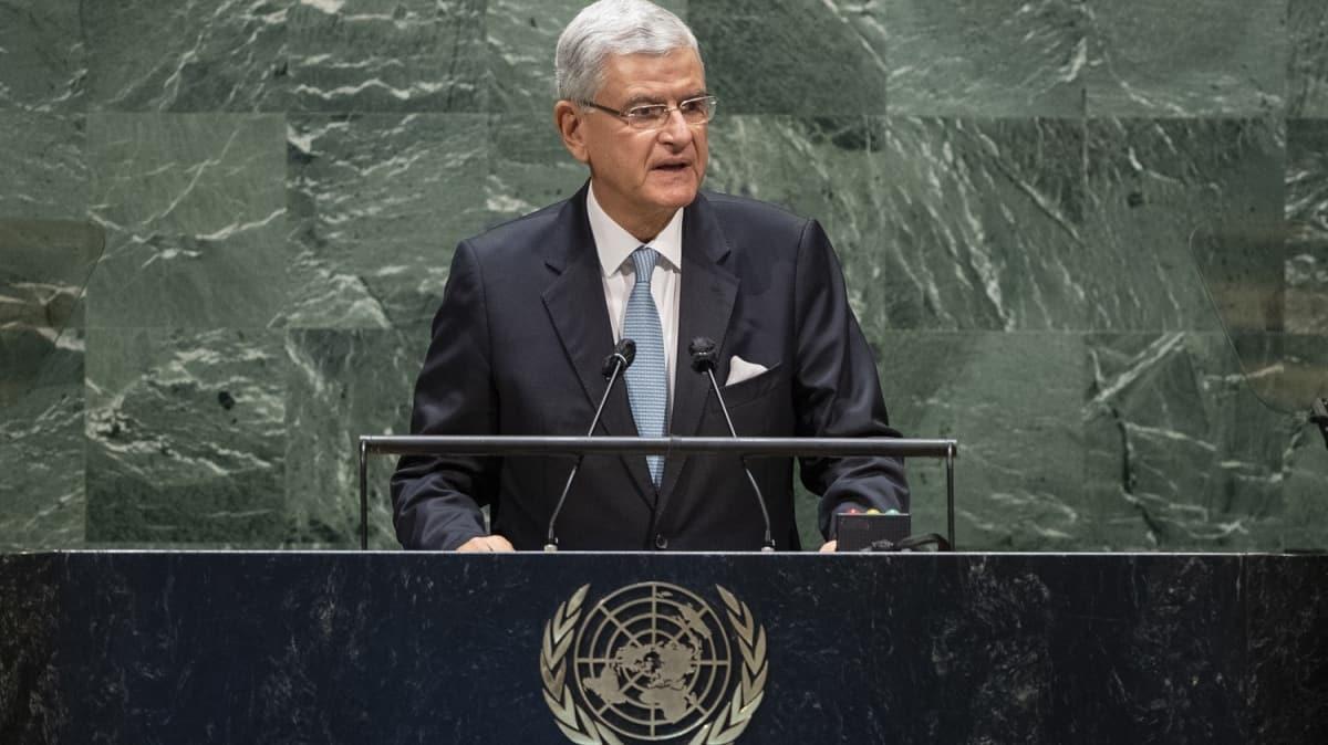 BM Genel Kurul Başkanı Bozkır'dan koronavirüs çağrısı: Anlaşmazlıklarımızı bir kenara bırakmak mecburiyetindeyiz