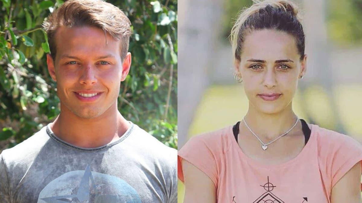 """Survivor yarışmacıları Murat Ceylan ve Damla Can aşk mı yaşıyor"""" İlk kez görüntülendiler"""