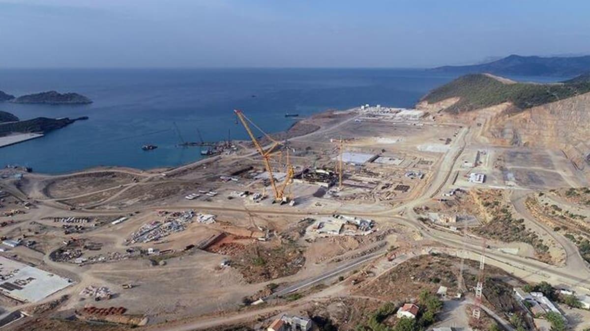 Akkuyu NGS'nin ikinci güç ünitesinde iki binanın temel atma çalışmaları tamamlandı