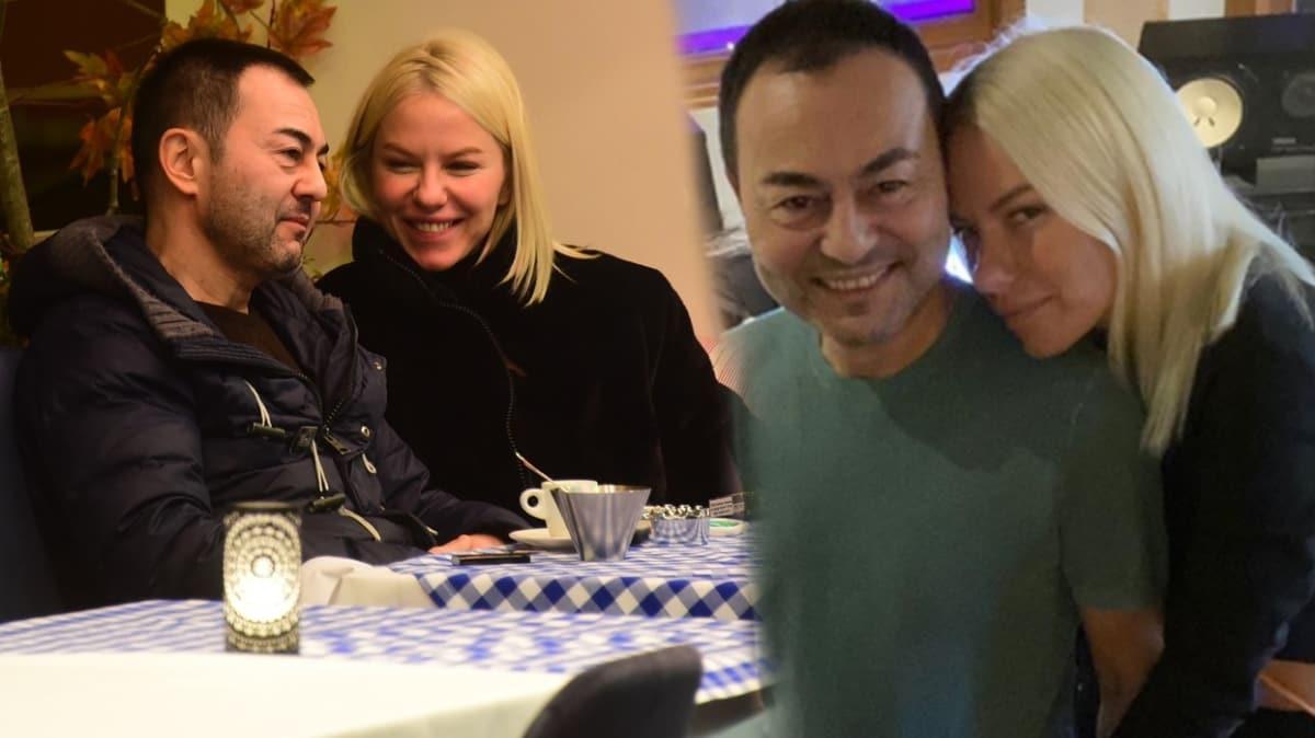Geçen ay barışan Serdar Ortaç ve Seçil Gür'den el ele aşk pozu!