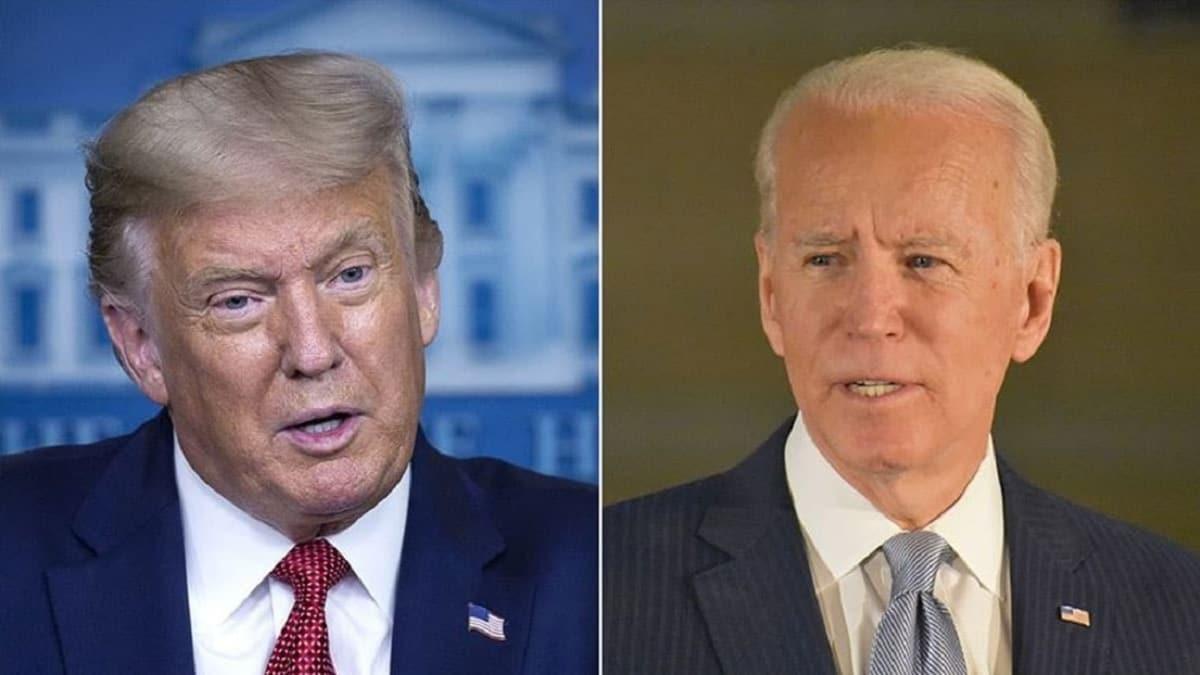 Canlı yayında karşı karşıya gelecekler: Trump ve Biden'ın tartışma konuları belli oldu