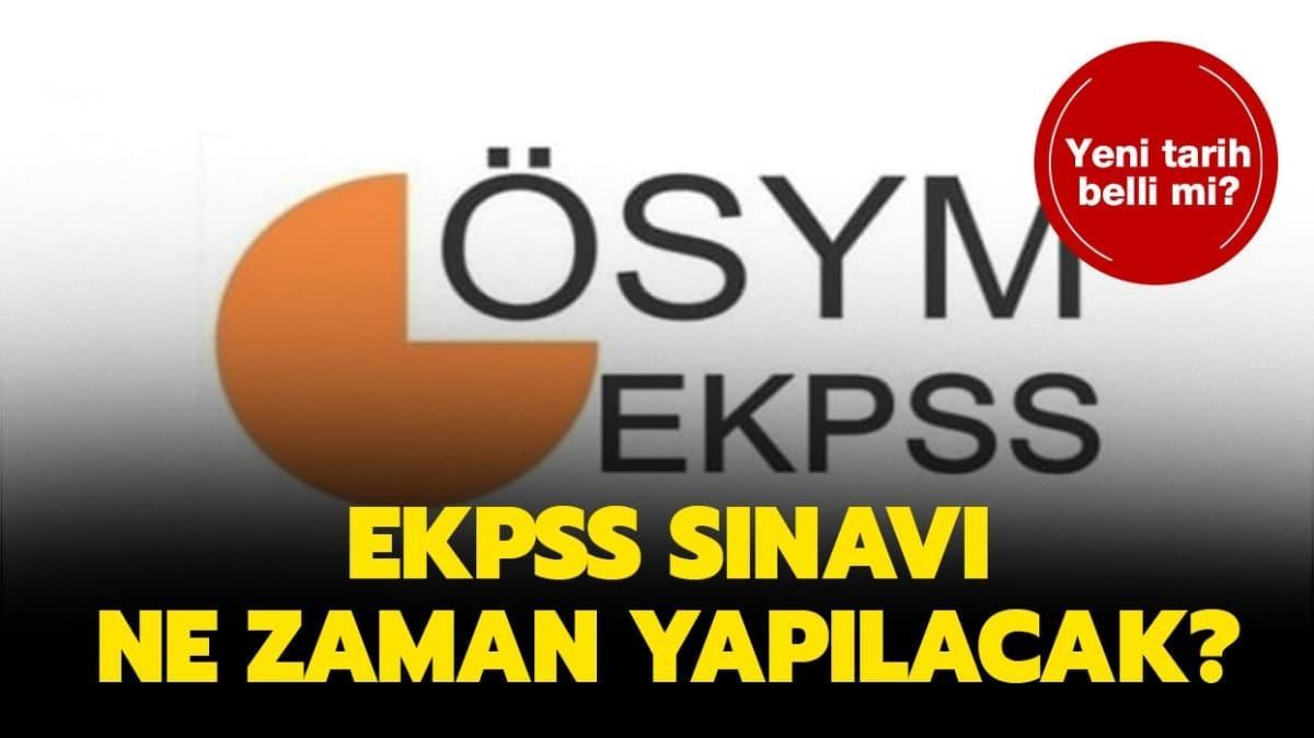 """EKPSS 2020 sınavı ne zaman"""""""