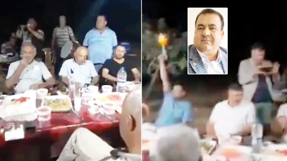 CHP'li başkandan koronavirüs partisi
