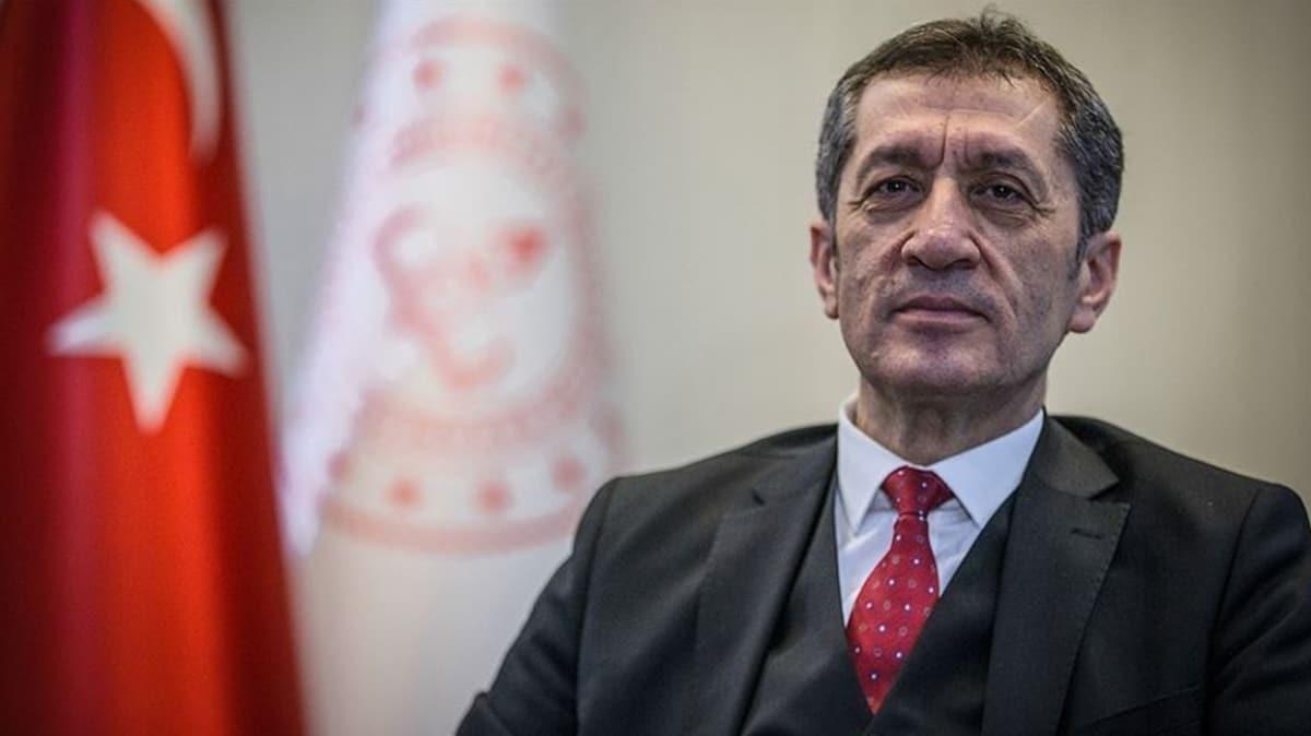 Milli Eğitim Bakanı Selçuk MHP Genel Başkanı Bahçeli'ye teşekkür etti