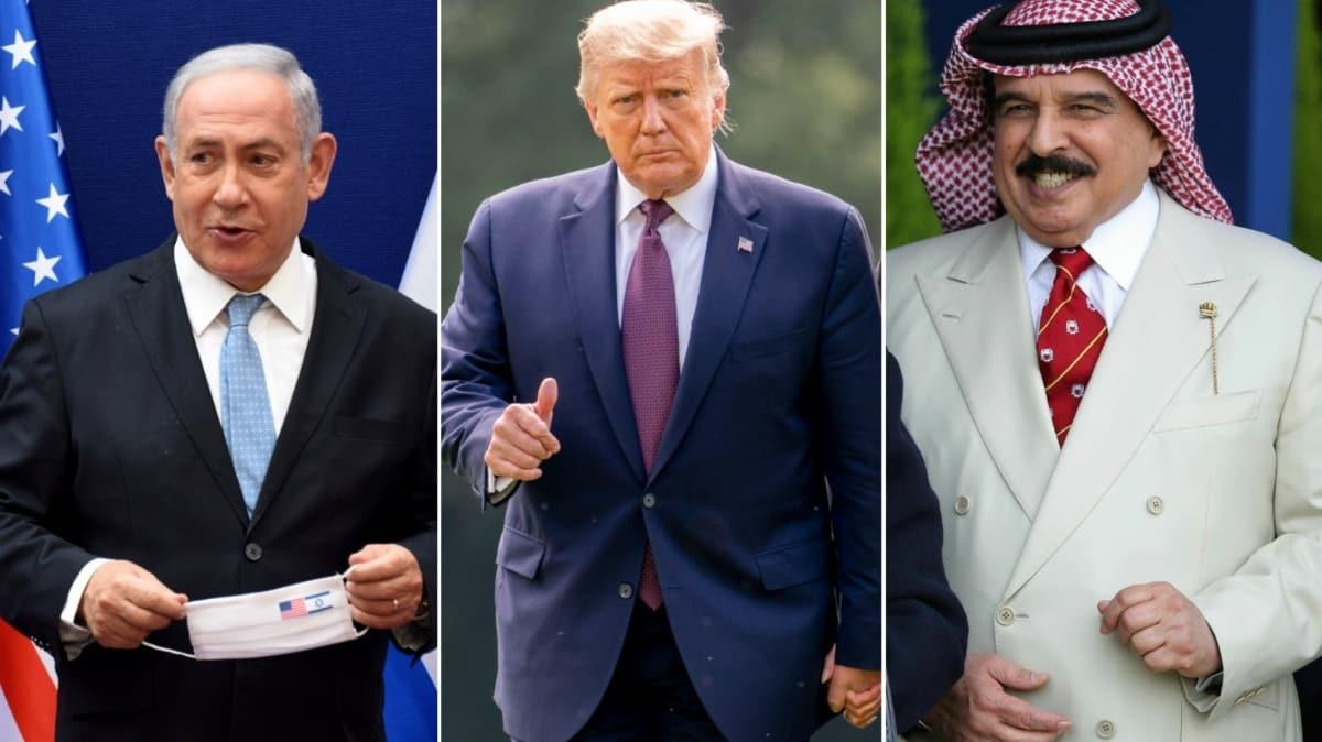 Netanyahu ile Bahreyn Veliaht Prensi görüştü